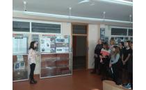 Выставка о творчестве Левиных в школе