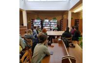 Публичная беседа с Надеждой Мартияновной Островской в читальном зале научной библиотеки Полоцкого университета