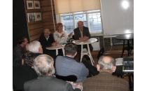 Eröffnung des Cinema-Diskussionsklubs der Geschichtswerkstatt Minsk
