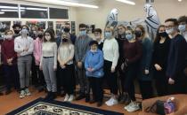 Встреча с молодёжью в Средней школе № 137 г. Минска
