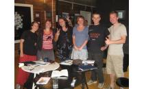 Sommerlager der Freiwilligen aus Deutschland in der Geschichtswerkstatt