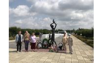 Ausfahrtsveranstaltung zum 85-jährigen Jubiläum von Leanid Lewin im Rahmen des sozialen Projekts
