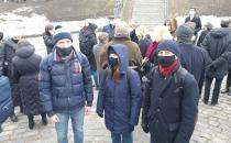 """Мемориальная акция в память о """"Пуримском"""" погроме в Минском гетто"""
